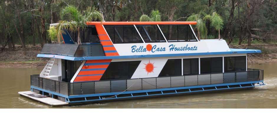 Luxury Houseboat Hire Echuca Moama Murray River